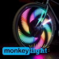 LUZ PARA RODA MONKEY LIGHT M232 - 32 LEDS / 42 TEMAS-17166